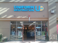 Front of Uniform Destination in the Outlets at Traverse Mountain in Lehi, UT.
